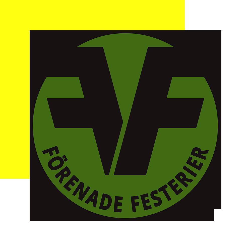 Förenade festerier logga
